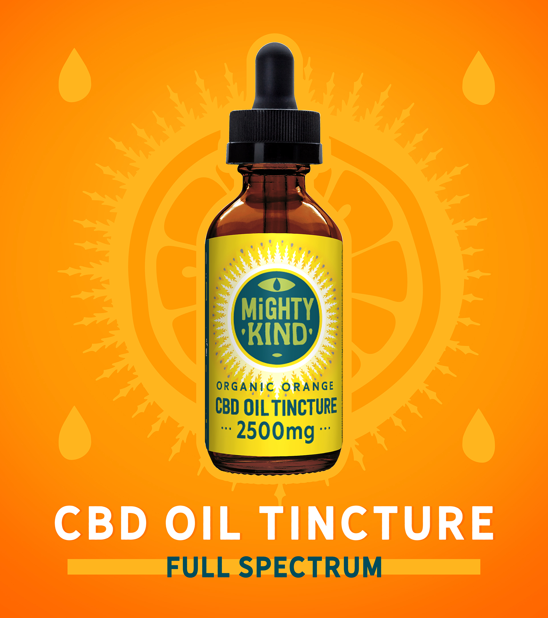Mighty Kind CBD Oil Tincture