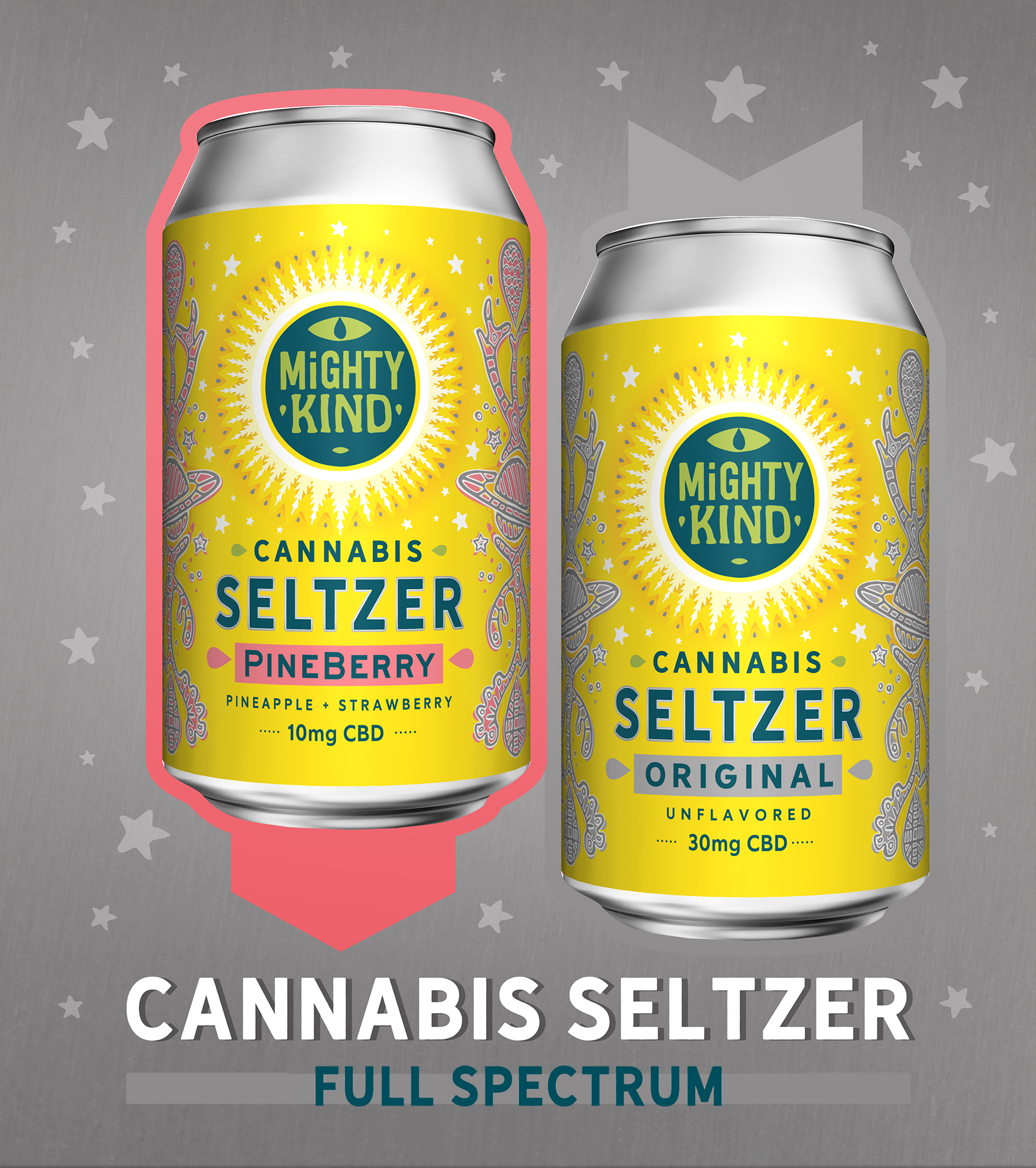 Mighty Kind Cannabis Seltzer